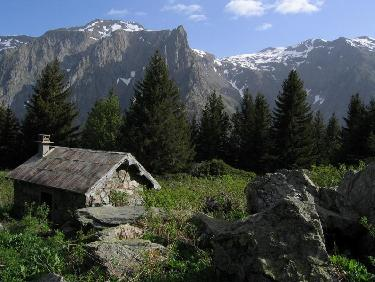 la cabane de Combe Oursi�re